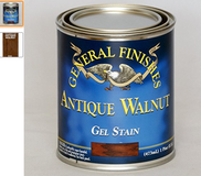 General Finishes antique walnut GEL STAIN quart NEW in Houston, Texas