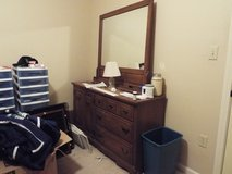 6 Drawer dressor with mirror backing - Must Sell Now, Moving Soon in Fort Polk, Louisiana