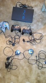 PS2+3controllers+ 16 games in Tifton, Georgia