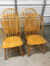 Set of 4 Dining Chairs in Travis AFB, California