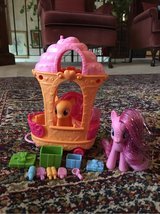MLP ice cream cart with ponies in Chicago, Illinois