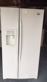 Newer Ge Profile White Refrigerator in San Diego, California