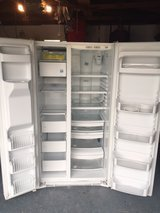 Newer Ge Profile White Refrigerator. in San Diego, California