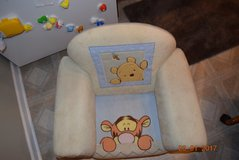 Disney baby Upholstered winnie the pooh Chair Toddler Furniture Baby Child Size in Chicago, Illinois