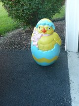 Chicken Popping Out Of Egg Easter Blow Mold in Chicago, Illinois