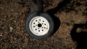 Tire for jet ski trailer in Lawton, Oklahoma