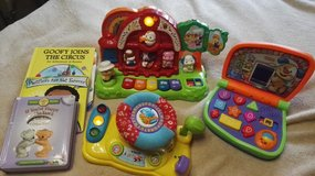 Set of Vtech toddler toys and books in Ramstein, Germany