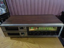 VINTAGE PANASONIC RS-828S DOUBLE 8 TRACK TAPE DECK AM/FM RADIO RECEIVER in Fairfield, California