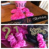 "Custom ""21"" Birthday Decorations in Naperville, Illinois"