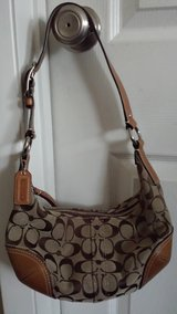 Coach C pattern purse in Bartlett, Illinois