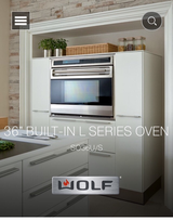 "Wolf 36"" L SERIES Wall Oven in Lockport, Illinois"