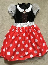 Minnie Mouse costume (sz 5-6) ( 7-8) in Bartlett, Illinois