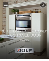 "Wolf 30"" L SERIES Wall Oven in Lockport, Illinois"