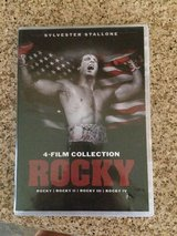 OPENED but never viewed - ROCKY 4 dvd set in Houston, Texas