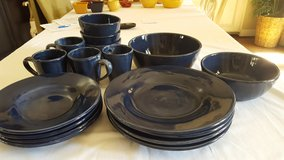 Pottery Barn Sausalito Dishes - Cobalt Blue in Houston, Texas