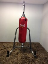 Everlast Punching bag with stand in Houston, Texas