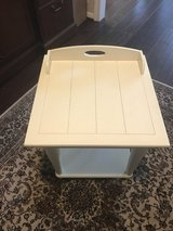 White end table/night stand in Houston, Texas