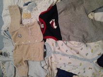 0 to 3 baby Boy 33 pieces clothes Lot in Lockport, Illinois