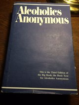 Alcoholics Anonymous 3rd Edition in Aurora, Illinois