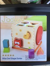 J'adore Wise Owl Shape Sorter - Wood in Vacaville, California