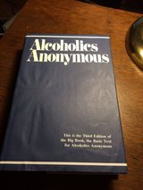 Alcoholics Anonymous 3rd Edition in Chicago, Illinois