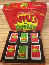 Apples to Apples in Fort Irwin, California