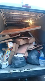 EMERGENCY  JUNK REMOVAL,  TRASH HAULING, PICK UP AND DELIVERY in Baumholder, GE