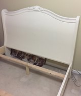 FULL BED FRAME + NIGHTSTAND in Lockport, Illinois