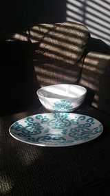 Large bowl and platter in Yucca Valley, California