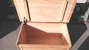 Real wood storage box / trunk in Vista, California