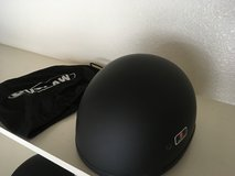 Outlaw Half Helmet, Black, Size Small with bag in Schofield Barracks, Hawaii