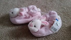 NWT: Girls Bunny Slippers, Size 7 in Fort Campbell, Kentucky