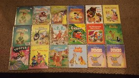 Vintage children's books set in 29 Palms, California