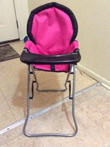 Highchair for Baby doll in Fort Irwin, California