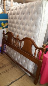 King Size Wooden Headboard in Fort Leonard Wood, Missouri