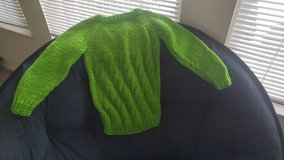 Hand knitted sweater in Colorado Springs, Colorado