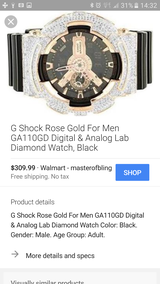 G shock Resist watch barely used in Leesville, Louisiana