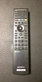 Sony Bluetooth Remote Control for PS3 (Blu-Ray Remote) in Joliet, Illinois