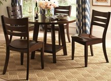 SLAT BACK 5PC DINING SET FREE DELIVERY in Huntington Beach, California