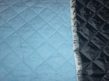 Fabric - Blue Quilted in Glendale Heights, Illinois