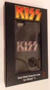 BRAND NEW!! Audiology KISS Logo Hardshell snap-on case for iPhone 4/4s in Perry, Georgia