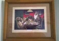 Dogs playing poker in Hemet, California