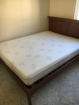 Queen sized bed w/ frame & headboard for sale in San Diego, California