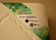 Queen Memory Foam Mattress and Box Spring in Oswego, Illinois
