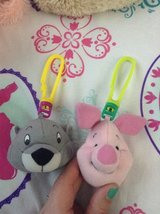 Gopher and Piglet Backpack Clips in New Lenox, Illinois