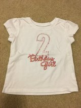 2T bday shirt in Fort Drum, New York