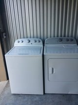WHIRLPOOL washer & dryer(free delivery) in Goldsboro, North Carolina