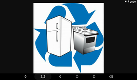 GE apartment size refrigerator | Appliances for sale on Baytown ...