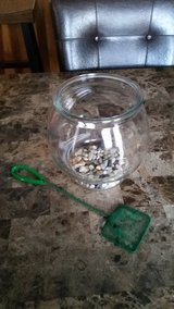 **REDUCED** Glass Fish Bowl Set in Clarksville, Tennessee