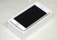 iPhone 6 Plus 128GB Gold color au mobile carrier in Okinawa, Japan